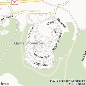 חדר להשכרה בקרני שומרון מפה