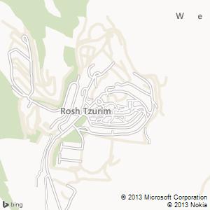 חדר להשכרה בראש צורים מפה
