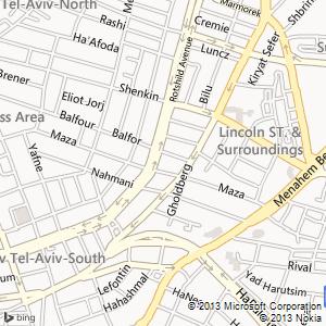 חדר להשכרה בתל אביב מפה