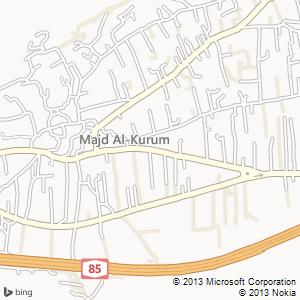סוויטה להשכרה במג׳ד אל-כרום מפה
