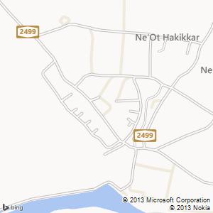 סוויטה להשכרה בנאות הכיכר מפה