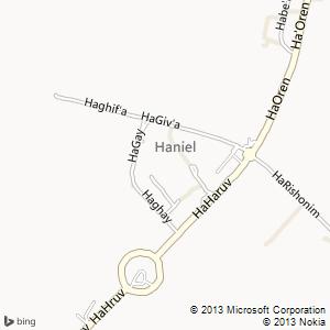 חדר להשכרה בחניאל מפה