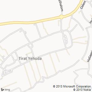 חדר להשכרה בטירת יהודה מפה