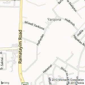 חדר להשכרה בירקונה מפה