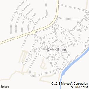 חדר להשכרה בכפר בלום מפה