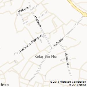 חדר להשכרה בכפר בן נון מפה