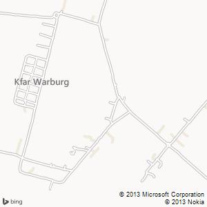 חדר להשכרה בכפר ורבורג מפה