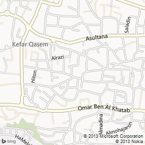 חדר להשכרה בכפר קאסם מפה