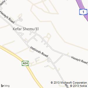 חדר להשכרה בכפר שמואל מפה