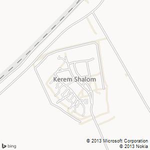 חדר להשכרה בכרם שלום מפה