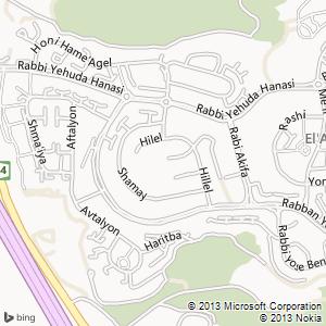 חדר להשכרה באלעד מפה