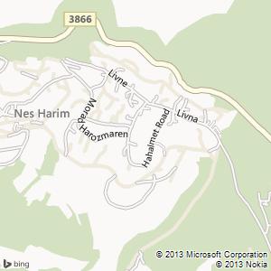 חדר להשכרה בנס הרים מפה
